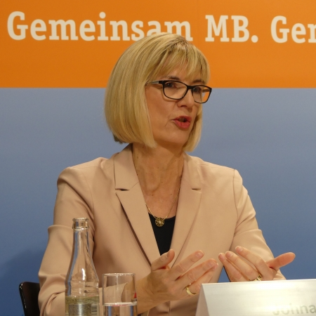 Dr. Susanne Johna, Bundesvorstandsmitglied des Marburger Bundes