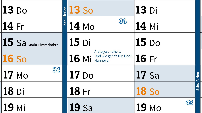 Jahresplaner 2020 Marburger Bund